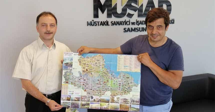 Samsun'un kültür ve turizm haritası