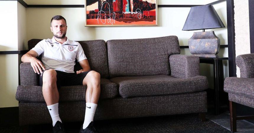 'Samsunspor'da olmak bir ayrıcalık'