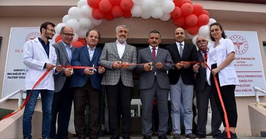 OMÜ Pelitköy Aile Sağlığı Merkezi açıldı