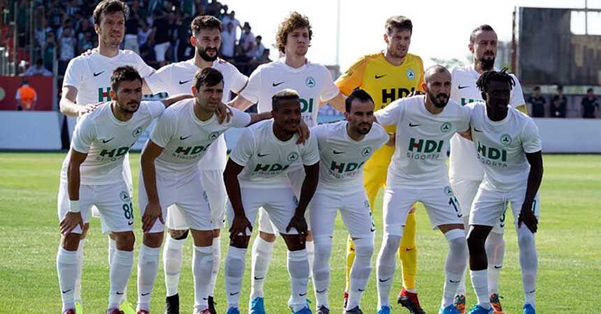 Giresunspor'da fatura 4 futbolcuya kesildi