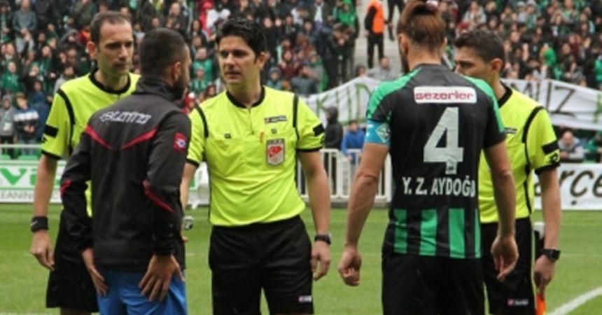 Pendik maçını Mustafa Aydın yönetecek