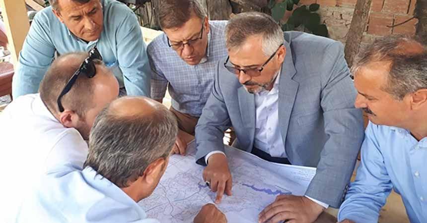Bafra'da ortak sorun 'yol ve su'
