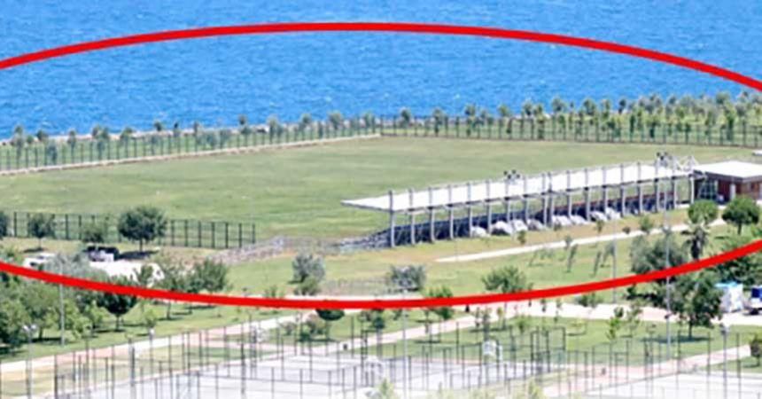 Okçuluk sahası Samsunspor'un!