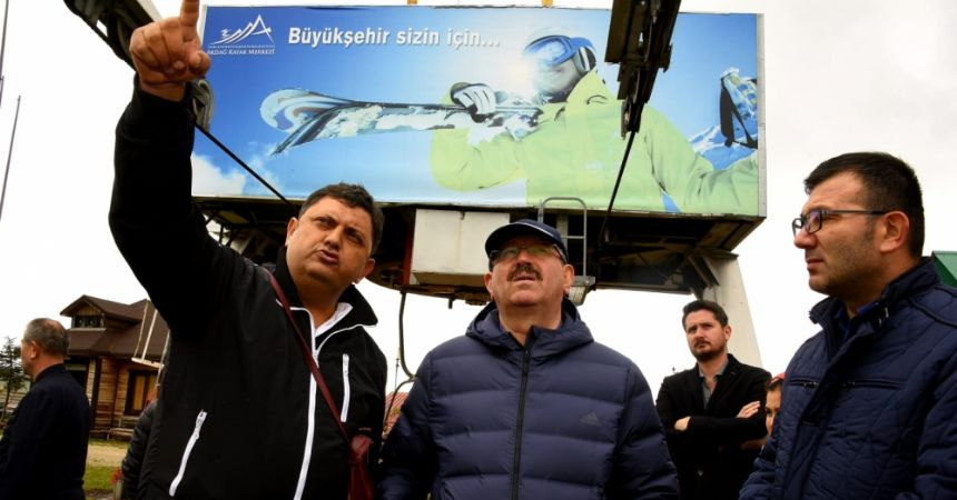 Büyükşehir'den Ladik'e düzenleme
