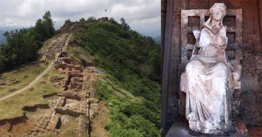 Ana Tanrıça Kibele heykeli Ordu'nun markası oluyor