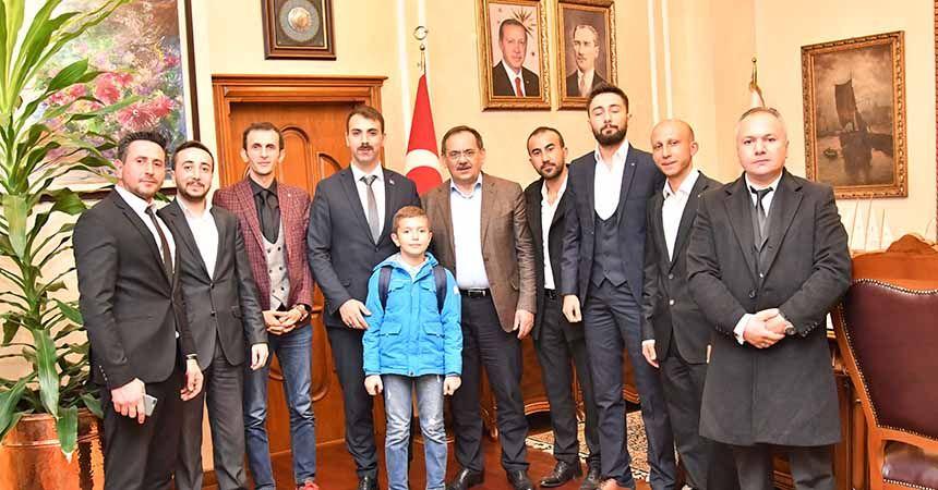 Ülkü Ocakları'ndan Başkan Demir'e ziyaret