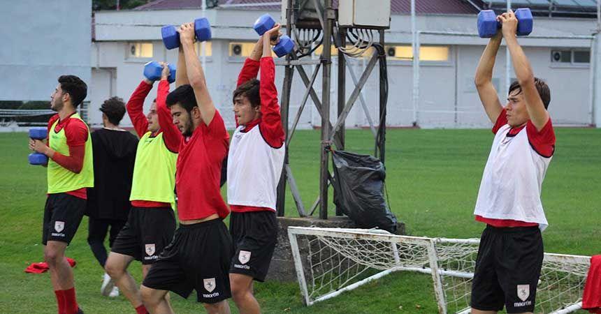 Samsunspor U19 kuvvet çalıştı