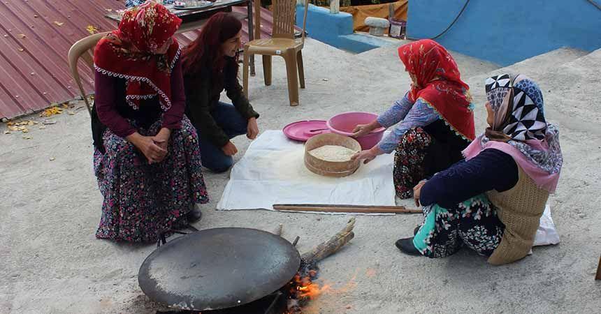 Samsun'da halk kültürü araştırılıyor