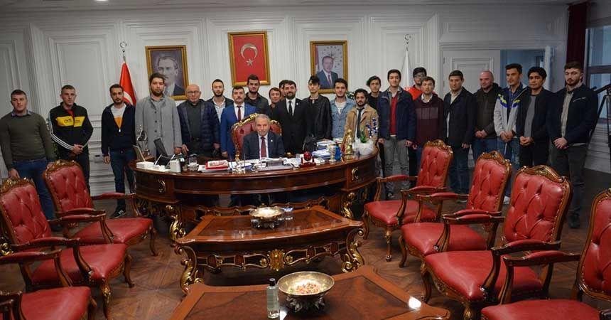 Yeni başkan ilk ziyaretini Demirtaş'a yaptı