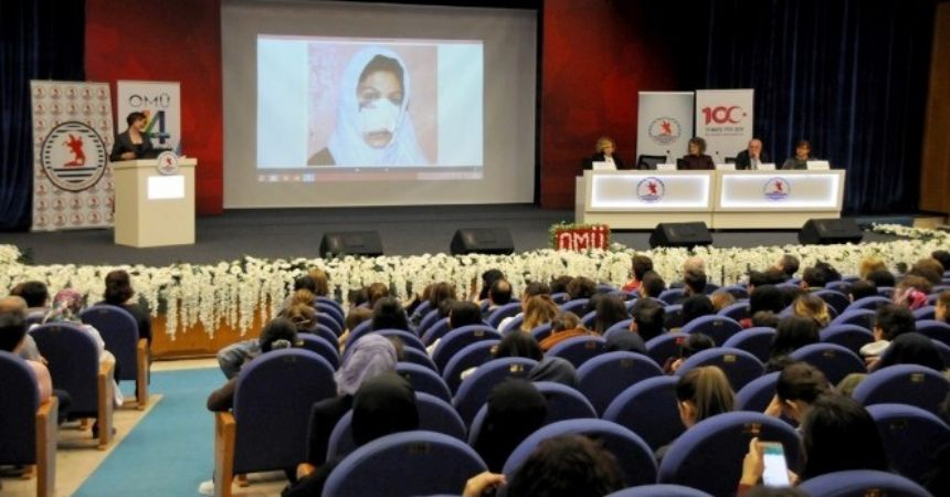 OMÜ'de kadına şiddet paneli