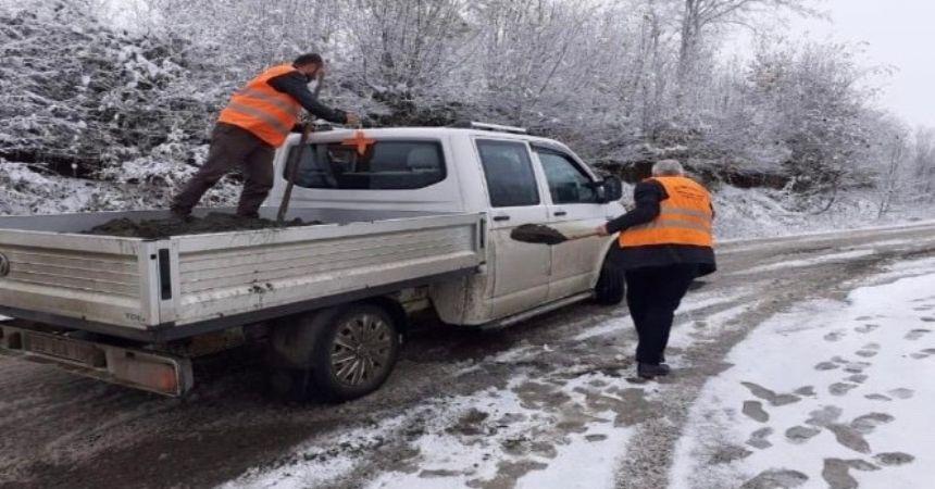 Büyükşehir karla mücadeleye hazır