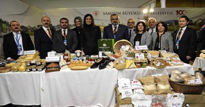 Bafra'nın yöresel ürünlerine yoğun ilgi
