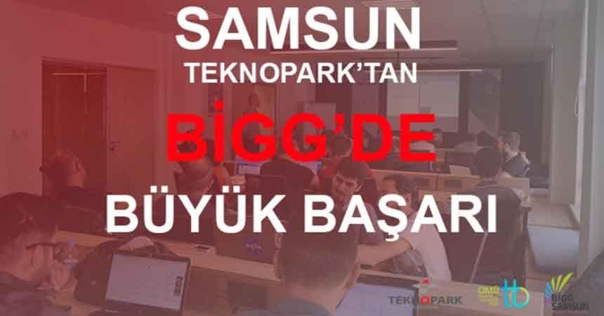 Samsun Teknopark'tan BİGG'de büyük başarı