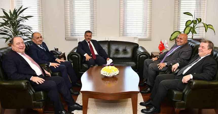 Vali ve Başkan'dan Samsunspor'a güzel haber