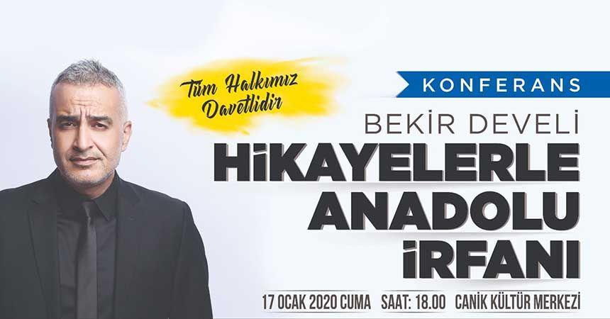 Canik'te 'Hikayelerle Anadolu İrfanı' konferansı