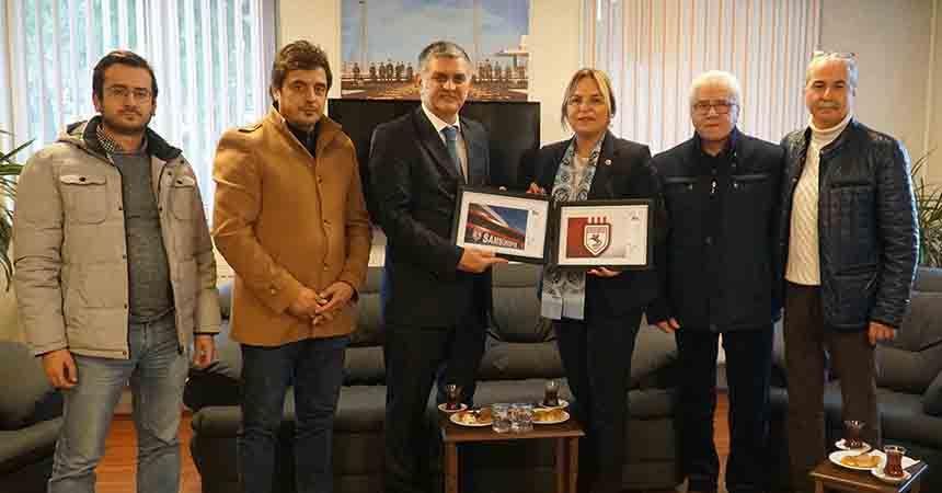 Hancıoğlu'ndan Samsunspor'a anlamlı hediye