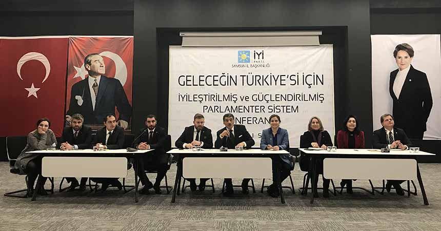 İYİ Parti'den 'parlamenter sistem' konferansı
