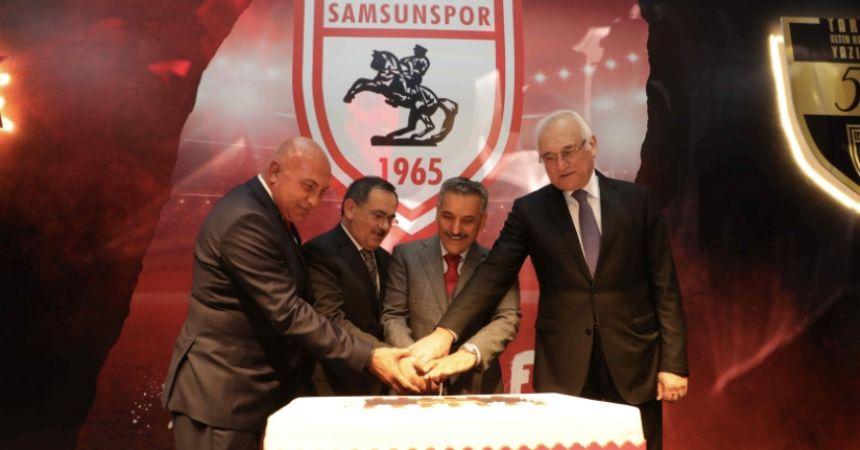 Samsunspor 55'inci yaşını kutladı