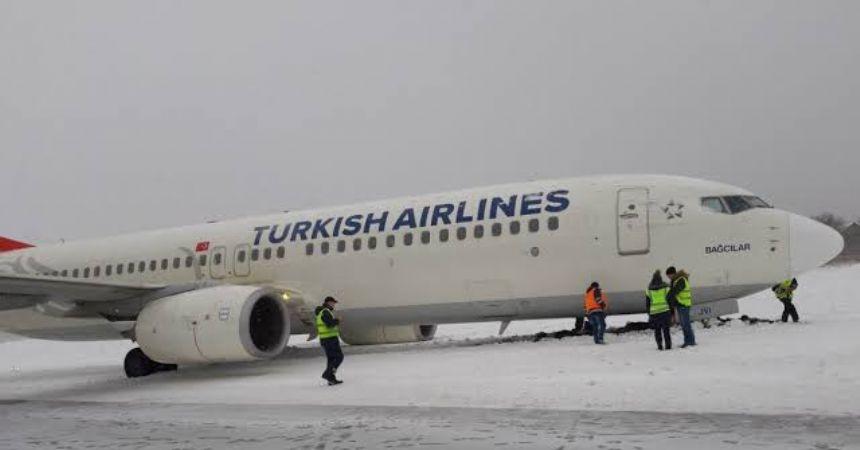 Havaalanı uçuşa kapandı