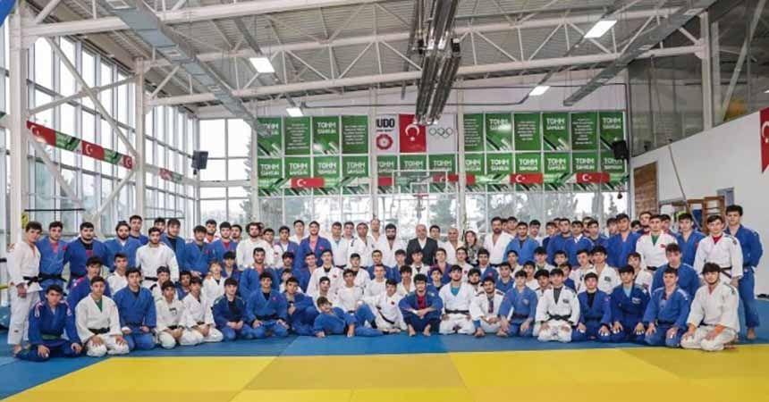Judo Milli Takımları olimpiyatlara Samsun'da hazırlanıyor