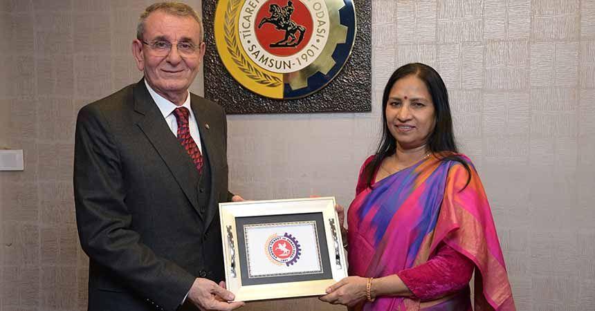 Hindistan'dan Samsun'a iş birliği ziyareti