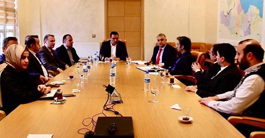 SASKİ'de istişare toplantısı