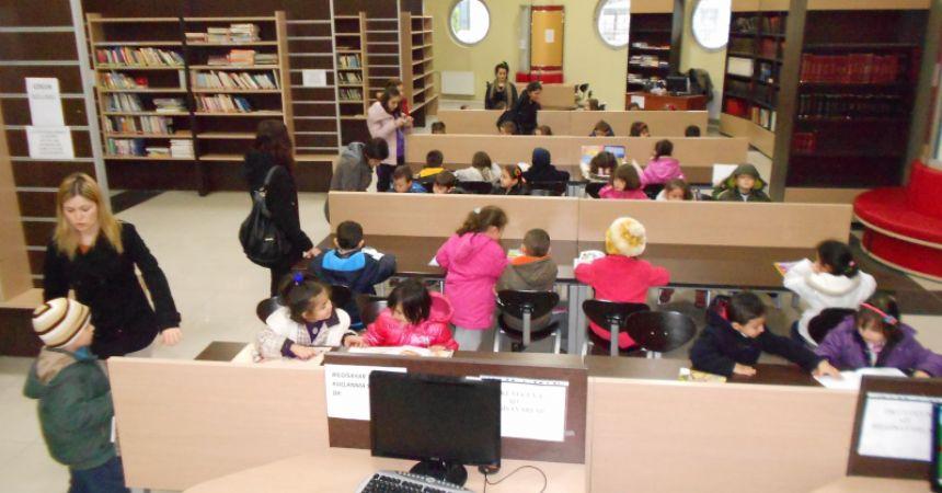 Atakum'a kütüphane müjdesi