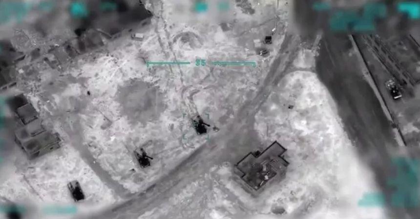 Rejimi SİHA'lar vuruyor