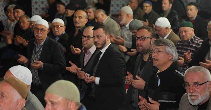 Atakum'da dualar mehmetçik için