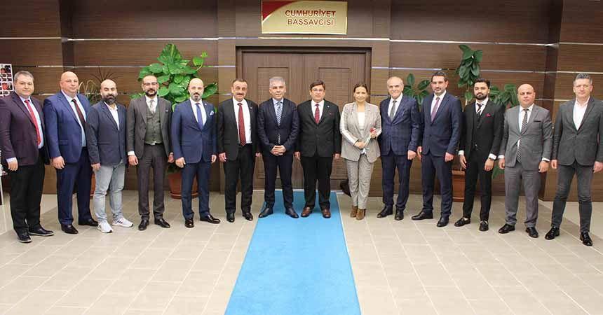 Samsunspor yönetiminden ziyaretler