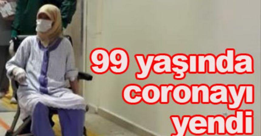 Fatma nine Covit-19'a direndi