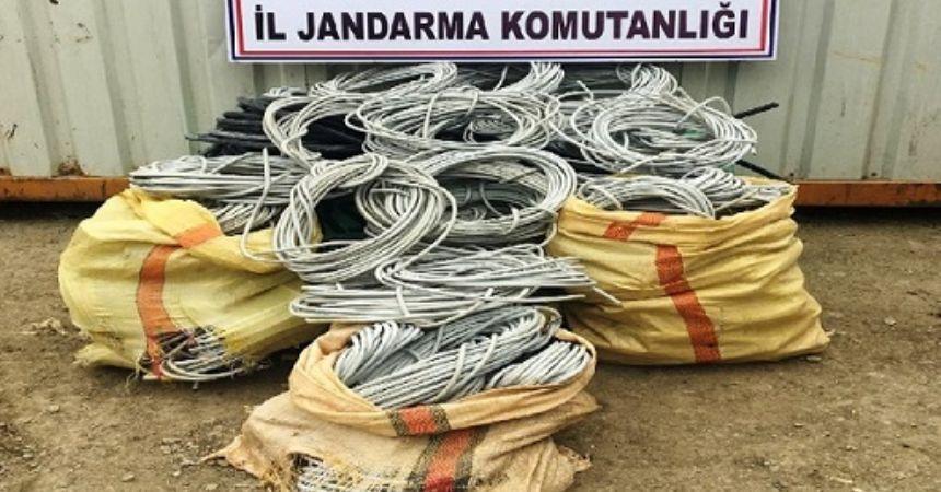 Kablo hırsızları serbest