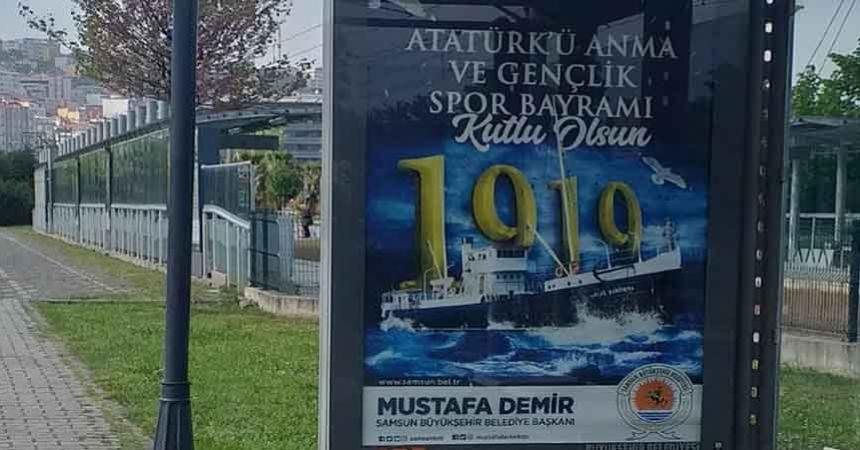Atatürk'süz 19 Mayıs kutlamasına tepki