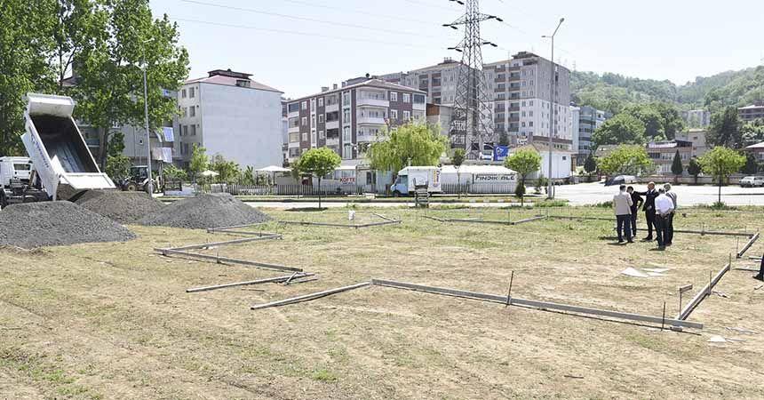 Tekkeköy'e 'engelsiz' park
