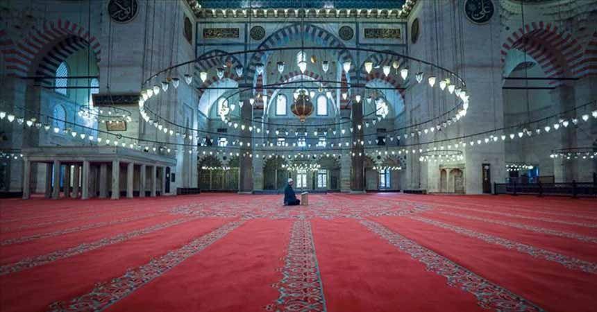 Camiler 12 Haziran'da ibadete açılıyor
