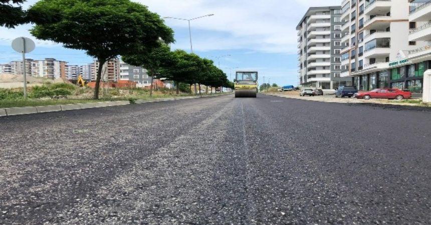 Polatlı bulvarına 4 bin ton asfalt