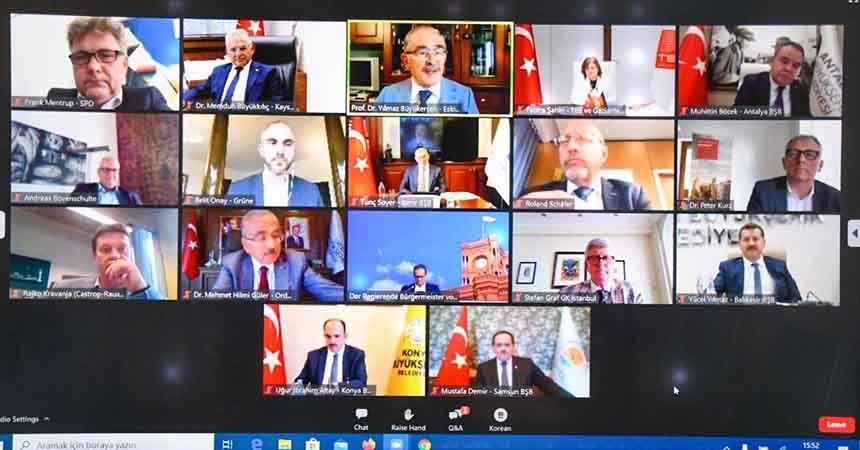 Başkan Demir, Türk-Alman Kardeş Şehirler Çalıştayı'na katıldı