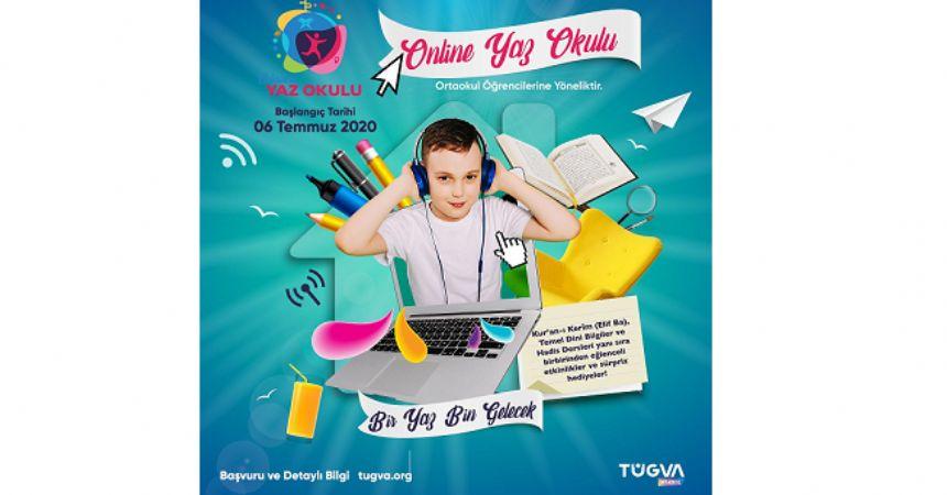 TÜGVA'dan online yaz okulu