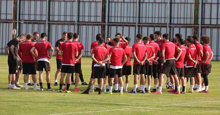 Samsunspor'un kamp programı açıkladı