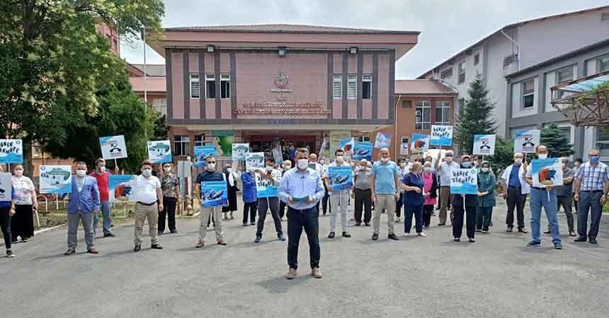 Sağlıkçılardan 'döner sermaye' protestosu