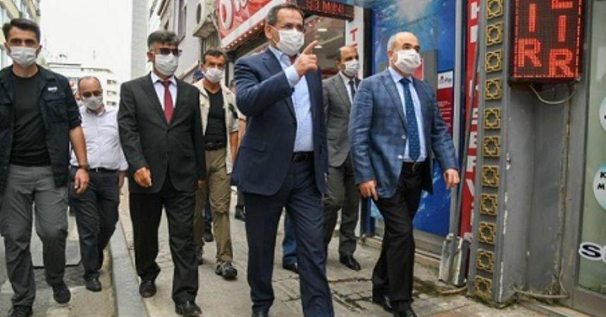 Demir'den maske denetimi
