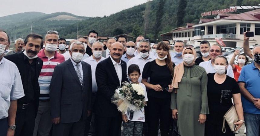 İyi Partili Erhan Usta Samsun'da