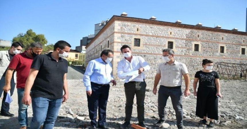 Başkan Demir, Saathane'yi inceledi