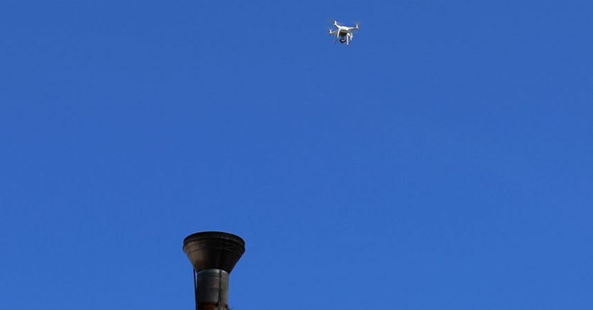 Çevre koruma 'drone'ları