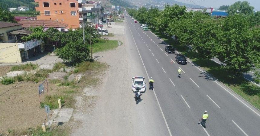Samsun'da ölümlü kazalar azaldı