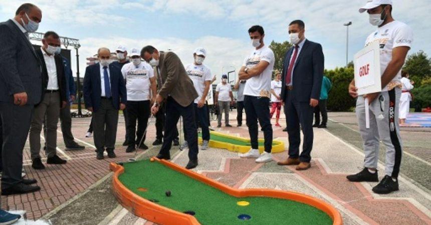 Samsun'da spor projeleri hazır