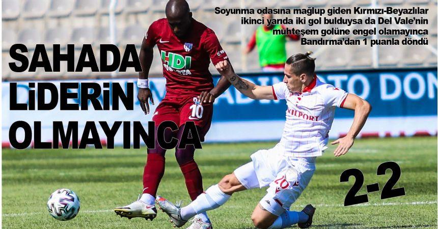 Bandırma'da gol düellosu
