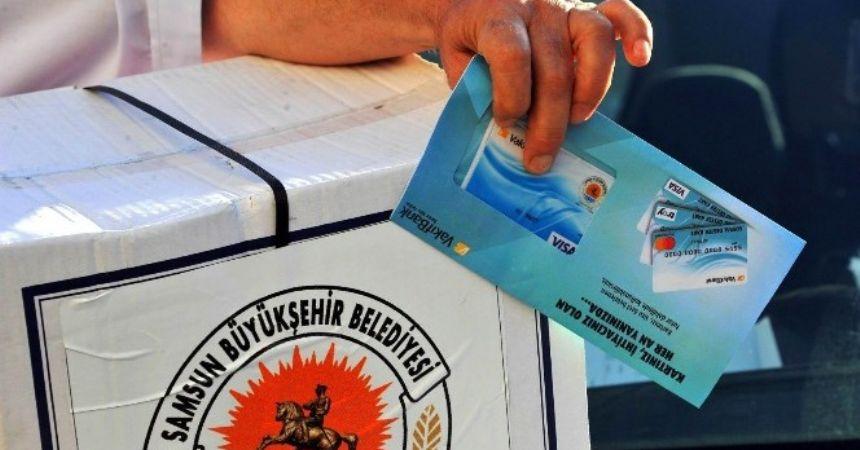 Büyükşehir'den destek kart