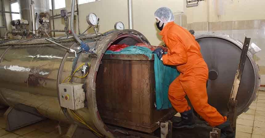 9 ayda bin 506 ton tıbbi atık bertaraf edildi