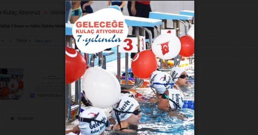 64 bin öğrenci yüzme öğrendi